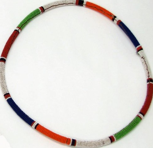 Maasai Multi-Color Rope Necklace $34.99