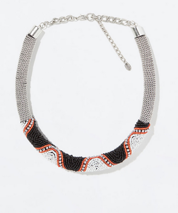 Zara Beaded Rigid Necklace $29.90