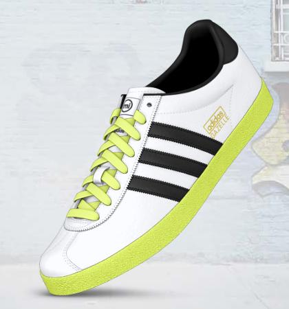 Adidas Mi Gazelle OG Custom Shoes $85