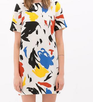 Zara Printed Dress $79.90