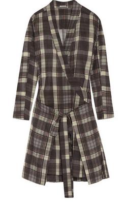 ÉTOILE ISABEL MARANT Vanessa checked cotton dress $585