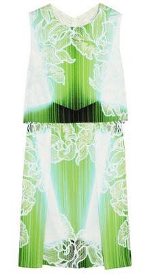 PETER PILOTTO MT printed stretch-silk mini dress $1295
