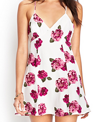 Forever 21 Floral Print Cami Dress $19.80