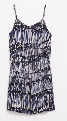 Zara Printed Playsuit $59.90