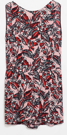 Zara Printed Playsuit $79.90
