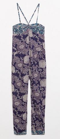 Zara Flower Printed Jumpsuit $79.90