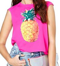 Reverse Pineapple Paradise Tank $48.00