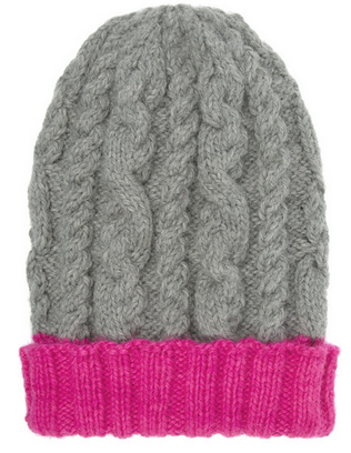 EUGENIA KIM Jill cable-knit alpaca beanie $235