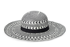 Forever 21 Patterned Straw Sun Hat $14.80