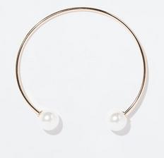Zara Choker with Pearls $19.90