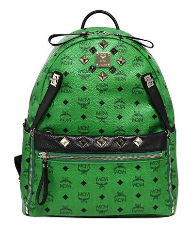 MCM Studded Dual Stark Medium Backpack $745
