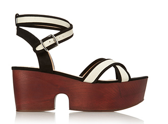 Forever 21 Chunky Canvas Sandals $32.80