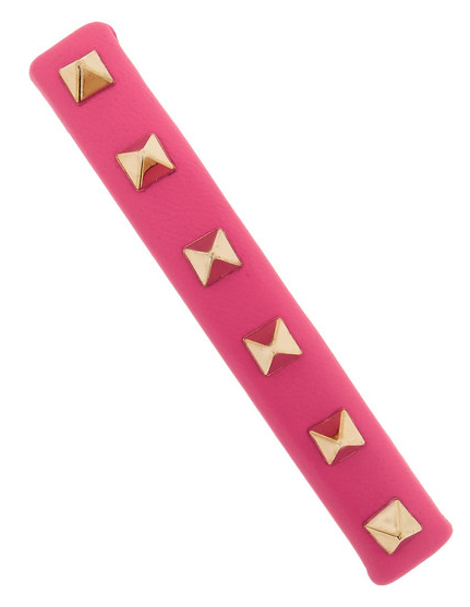 VALENTINO Studded Leather Hairclip $145