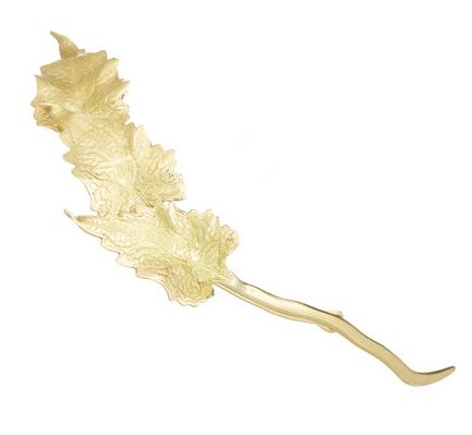 ANA KHOURI Leaf 18-karat Gold Hair Pin $17,200