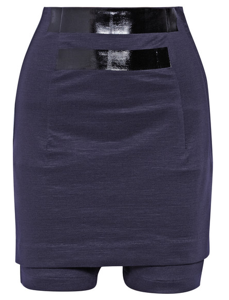 TOGA Tape-Appliquéd Jersey Shorts $255
