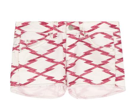 ÉTOILE ISABEL MARANT Norina Printed Cut-Off Shorts $230