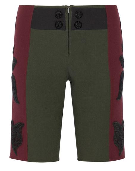 MARC JACOBS Appliquéd Wool Bermuda Shorts $1,700