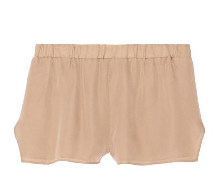 MASON BY MICHELLE MASON Washed Silk-Georgette Shorts $265