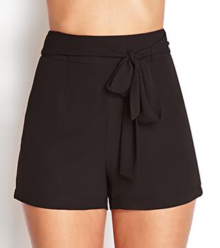 Forever 21 High-Waist Woven Shorts $14.80