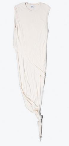 OAK Tornado Dress Linen Terry Natural $124