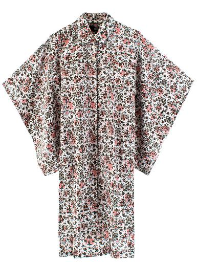 KTZ Flower Print Long Kimono Shirt $265