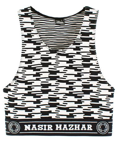 Nasir Mazhar Crossword Sport Bra $165
