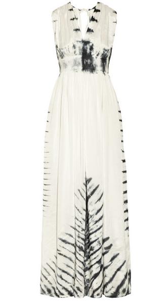 Vix Tie Dyed Cotton Maxi Dress $120