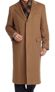 Golden Fleece Cashmere Coat $2498