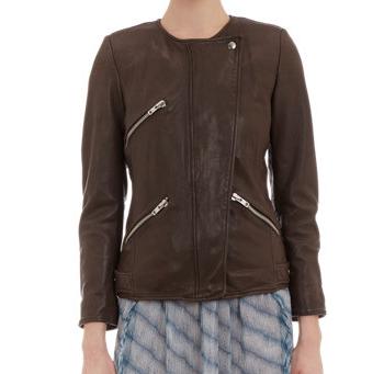 Etoile Isabel Marant Bradi Leather Jacket $749