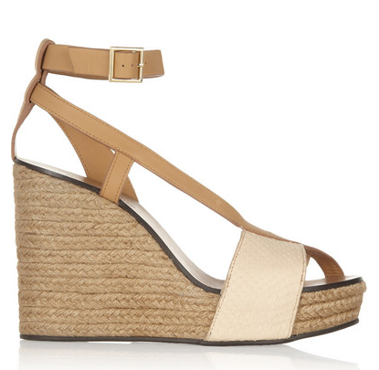 See by Chloe Raffia Wedges $245