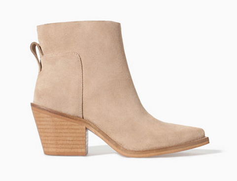 Zara Block Heel Ankle Boot $49.99