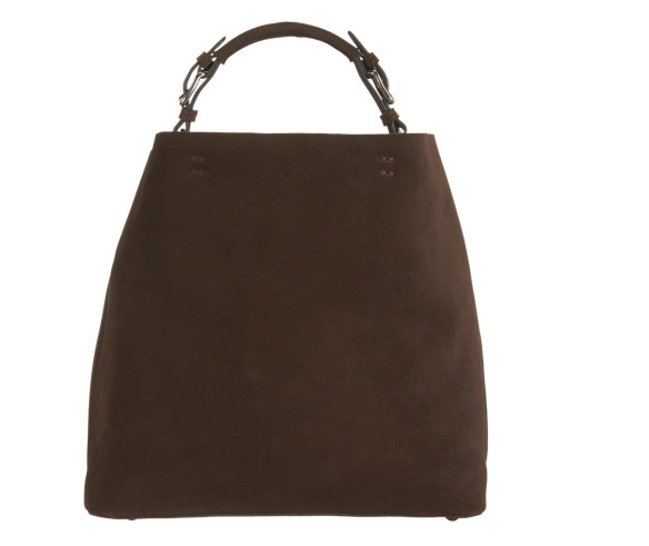 Marni Nubuck Hobo Bag $1040
