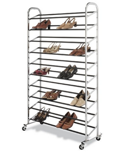 Whitmor 50 Pair Shoe Rack $48.78