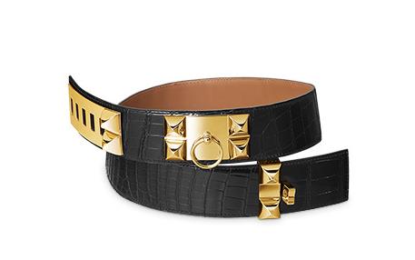 Hermes Collier de Chien Belt $7000