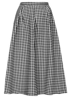 Top Shop Gingham Calf Midi Skirt $96