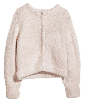 H&M Wool Puffy Cardigan $59.95