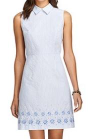 Brooks Brothers Cotton Dress $148