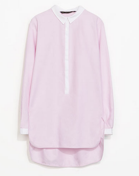 Zara Oversized Shirt $59.90