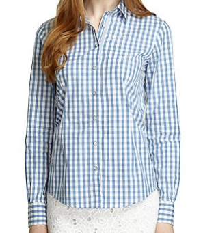Brooks Brothers Gingham Shirt $75