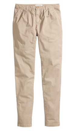 H&M Silm Fit Chinos $15
