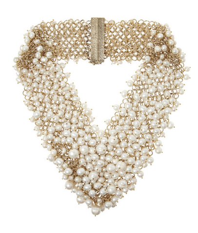 Rosantica Pearl Necklace $845