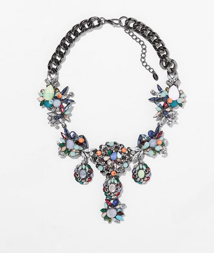 Zara Multicolor Necklace $49.90