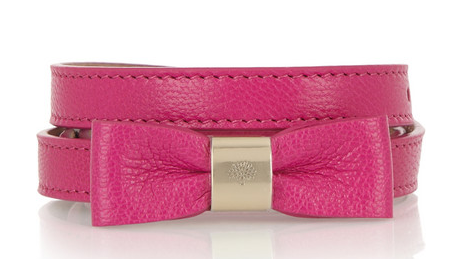 Mulberry Bow Belt $198