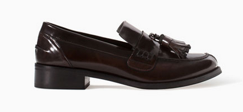 Zara Tasseled Loafer $99.90