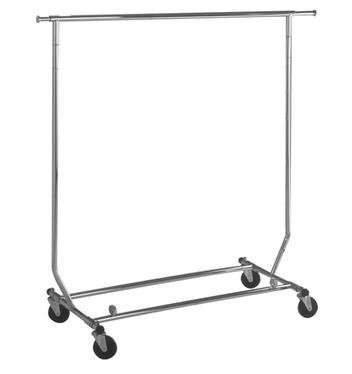 Chrome Rolling Rack $89.99 + shipping