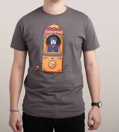 Threadless I WISH I WERE BIG Design by Mitch Ansara Graphic T-Shirt