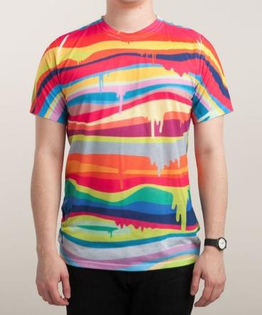 Threadless THE MELTING Design by Joe Van Wetering Graphic T-Shirt $25