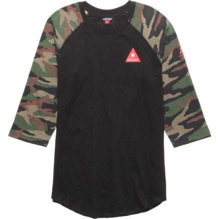 Asphalt Yacht Club Delta Force Raglan T-Shirt - 3/4-Sleeve $29.21