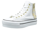Converse - Chuck Taylor All Star Platform Zip (White) $36.99