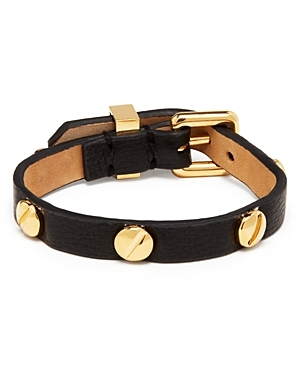 Marc By Marc Jacobs Screw Leather Bracelet $88
